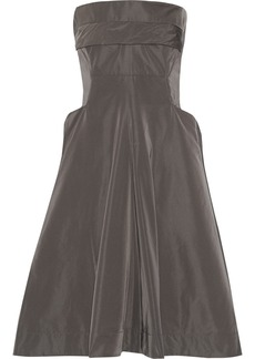 Jil Sander Matte-satin dress