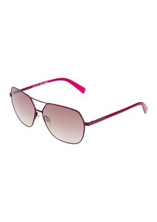 Jil Sander Metal Aviator Sunglasses