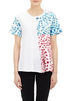 Jil Sander Mixed-Print T-Shirt