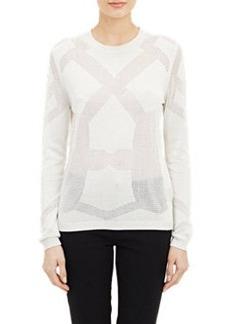 Jil Sander Open-Work Sweater
