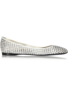 Jil Sander Perforated leather ballet flats
