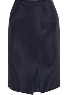Jil Sander Pinstriped woven skirt