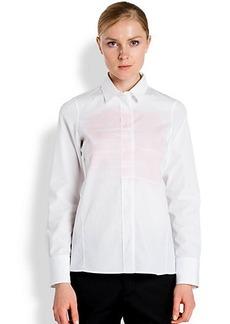 Jil Sander Printed Poplin Shirt