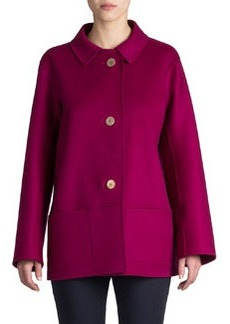 Jil Sander Rascel Full-Back Coat