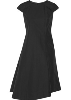 Jil Sander Asymmetric cotton dress