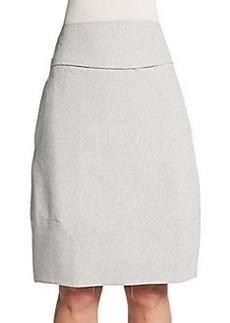 Jil Sander Saetta Stretch Wool Tulip Skirt