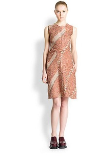Jil Sander Savana Bouclé Jacquard Dress