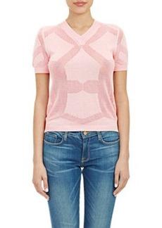 """Jil Sander Short Sleeve """"Ladies"""" Sweater"""