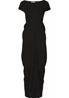 Jil Sander Silk-chiffon maxi dress