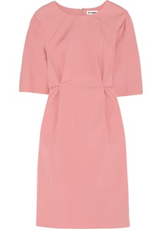Jil Sander Stretch-cotton blend dress