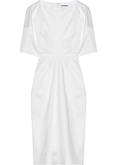 Jil Sander Stretch-cotton dress