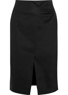 Jil Sander Stretch-cotton pencil skirt