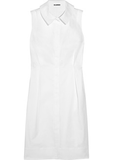 Jil Sander Stretch-cotton shirt dress