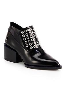 Jil Sander Studded Leather Loafers