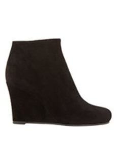 Jil Sander Suede Wedge Ankle Booties