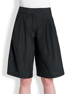 Jil Sander Teddy Taffeta Shorts