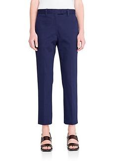 Jil Sander Terzo Cotton Straight-Leg Trousers