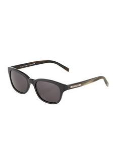 Jil Sander Two-Tone Square Acetate Sunglasses