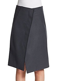 Jil Sander Wool Wrap Skirt