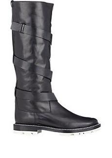 Jil Sander Wraparound Boots