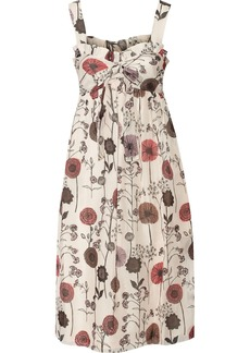 Jill Stuart Adele floral-print silk dress