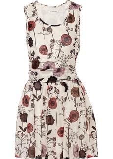 Jill Stuart Lisa floral-print silk mini dress