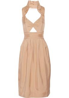 Jill Stuart Tanya cutout cotton dress