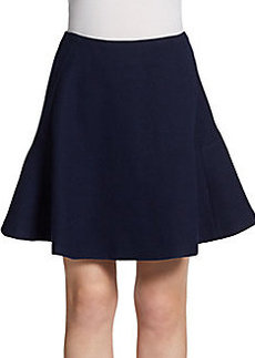 Jill Stuart Wool Flannel Flip Skirt
