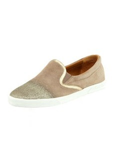 Demi Degrade-Suede Skater Slip-On   Demi Degrade-Suede Skater Slip-On