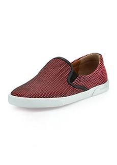 Demi Honeycomb Skate Shoe, Geranium   Demi Honeycomb Skate Shoe, Geranium