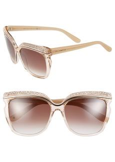 Jimmy Choo 58mm Retro Sunglasses
