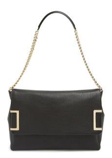 Jimmy Choo 'Ally' Leather Shoulder Bag