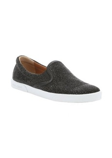 Jimmy Choo asphalt canvas 'Demi' slip-on sneakers