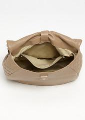Jimmy Choo 'Becka Biker - Large' Leather Shoulder Bag