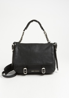 Jimmy Choo 'Becka Biker - Small' Leather Crossbody Bag