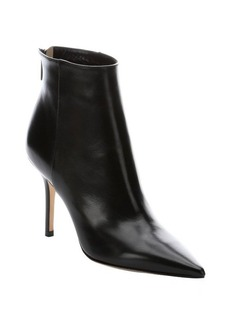 Jimmy Choo black leather 'Amore' stiletto ankle boots