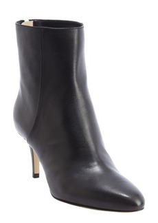 Jimmy Choo black leather 'Brody' rear zip ankle boots