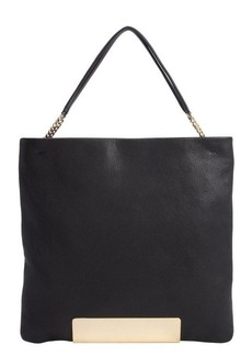 Jimmy Choo black leather 'Charlie' convertible tote