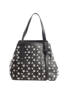 Jimmy Choo black leather star studded small 'Sasha' bag