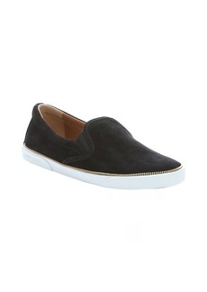 Jimmy Choo black suede 'Demi' slip-on sneakers