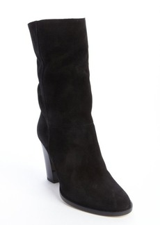 Jimmy Choo black suede mid-calf 'Music' boots