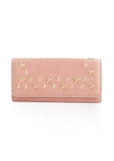 Jimmy Choo blush leather 'Star' continental wallet