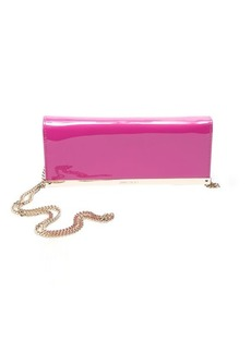 Jimmy Choo bordeaux pink patent leather 'Milla' convertible bag