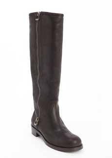 Jimmy Choo brown leather side zip '132 Doreen' boots