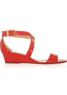Jimmy Choo Chiara patent-leather sandals