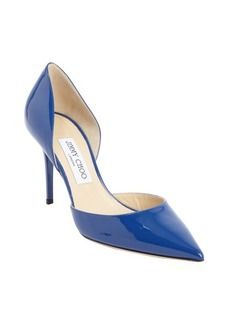 Jimmy Choo cobalt blue patent leather 'Addison' pointed toe pumps