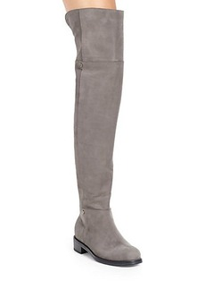 Jimmy Choo Deron Suede Over-The-Knee Boots