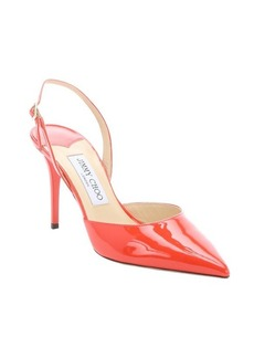 Jimmy Choo fire patent leather 'Tilly'slingback pumps