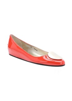 Jimmy Choo fire patent leather 'Wray' ballet flats