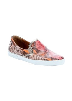 Jimmy Choo geranium snake print leather 'Demi' slip-on sneakers